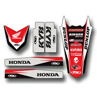 Trim Kit For 2001 Honda CR250R Offroad Motorcycle Factory Effex 17-50304