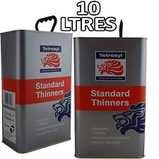 Standard Cellulose Thinners 10 Litres Gun Cleaner Paint Primer 2 x 5L