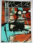 """ACEO Art card 2.5 x 3.5"""", abstract series #2, signed"""