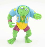 """Vintage GINGIS FROG 1989 Playmates Figure TMNT Ninja Turtles RARE 4.5"""" VGC"""