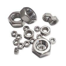 ECROUS DIN 934 6 PANS INOX A4 AISI 316 GAMME DE 5 à 16 mm - dtail : Ø 10 X 150
