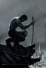 El Wolverine DOBLE CARA ORIGINAL película PÓSTER Hugh Jackman Estilo B RARO