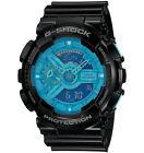 CASIO GA-110B-1A2 G-SHOCK Analog Digital Resin Strap Blue Black