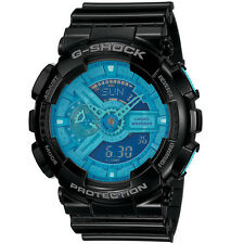 CASIO GA-110B-1A2 G-SHOCK Resin Strap Blue Black