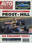 AUTO HEBDO n°888 du 7 Juillet 1993 PORSCHE RUF BTR2 EKS