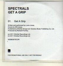 (CW285) Spectrals, Get A Grip - 2011 DJ CD