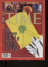 TIME INTERNATIONAL MAGAZINE - December 23, 1996