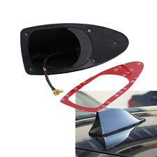 1pc Fit BMW VW Car SUV Van Antenna Shark Fin Radio Signal Aerial Universal Black