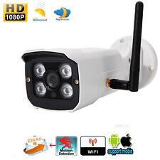 1080P HD Wireless WIFI IP Camera Outdoor ONVIF Network CCTV Webcam Night Vision