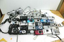 Digital camera point and shoot lot As Is Parts Repair Untested canon kodak fuji
