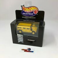 #864  Hummer in Acrylic Case Hot Wheels Collectibles * JC26