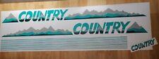 VW Golf Country Aufkleber Sticker