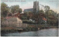 The Church From River Bure, BELAUGH, Norfolk,