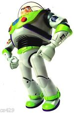 """7"""" DISNEY TOY STORY BUZZ LIGHTYEAR CHARACTER WALL SAFE STICKER BORDER CUT OUT"""