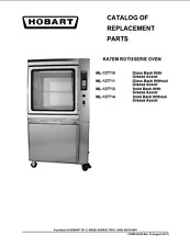 Hobart Pdf Catalog Of Replacement Parts For Ka7em Rotisserie Ovens