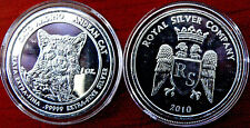 Royal Silver Co. 2010 1Oz 99999 Extra Fine Silver Andean Cat