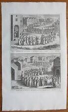 Picart Religion Java Indonesia Folio - 1732
