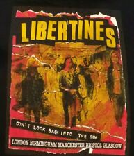 Very rare vintage Libertines 2003 gigs/tour T-Shirt , X-Large