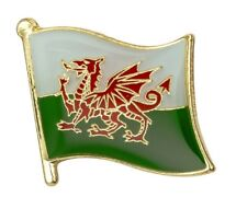 WALES - Pin Lapel Badge - Cymru - Welsh Flag - Wales Flag - Rugby - Metal Badge