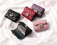 Rfid Credit Card Wallet  Women  Leather Card Holder Case Organizer Coin Purse