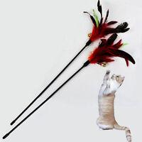 1x Katze Katzenspielzeug Spielangel Katzenangel Spielzeug Angel m.Glocke DE