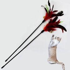 1x Katze Katzenspielzeug Spielangel Katzenangel Spielzeug Angel m.Glocke Neu