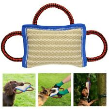 New Durable 3 Handles Training Dog Bite Tug Toys for K9 Labrador German Shepherd