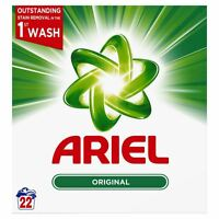 Ariel Original Biological Washing Laundry Detergent Cleaning Powder - 22 Washes