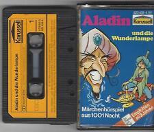 MC Kassette Aladin und die Wunderlampe - Karussell 1977