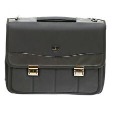 Davidt's - Black Laptop Briefcase Business Bag from the Monte Carlo Range