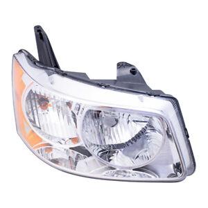Passengers Headlight Headlamp w/ Housing Assembly for 2006-2009 Pontiac Torrent