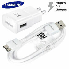For Original Samsung Galaxy S5 Note 3 Oem Wall Charger 3.0 Data Sync 3Ft Cable