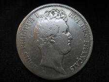 FRANCIA FRANCE LUIS FELIPE I - 5 FRANCOS 5 FRANCS 1831 MA MARSELLA- CANTO INCUSO