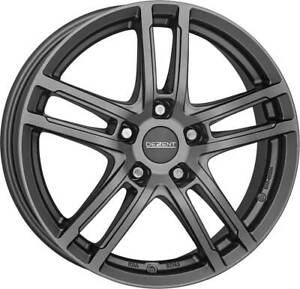 Dezent wheels TZ graphite 6.5Jx16 ET48 5x114,3 for Daihatsu Terios 16 Inch rims