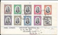 GRENADA 1951 REGd COVER KG6