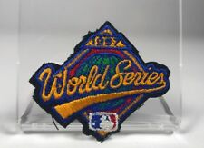 1997 World Series Florida Marlins Cleveland Indians Baseball Hat Patch