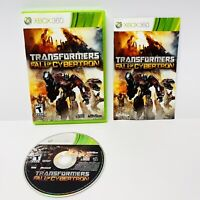 Transformers: Fall of Cybertron (Microsoft Xbox 360, 2012) Complete And TESTED!