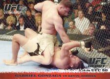 2009 TOPPS UFC ROUND 1 DEBUT  ROOKIE RC GABRIEL GONZAGA #38