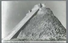Uxmal The Temple /  The Pyramid of the Magician Yucatan Mexico Postcard