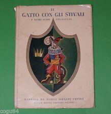 Il Gatto con gli Stivali - Chiesa - Prima Ed. Hoepli 1941 - Lilja Slutskaja
