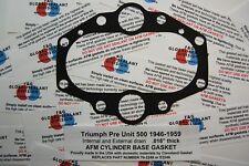 Triumph 500 Pre Unit cylinder base Gasket 70-2249  ALUMINUM CORE 5T T100 TR5 GP