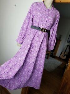 New Stunning Size M 10-12 Midi Midax Dress Gd Actuel @ ASOS Smock Tiered Tea Lil