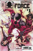 Spider-Force Comic Issue 1 Cover A First Print 2018 Priest Siqueira Junior Marve
