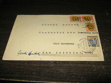 Germany French Zone Cover With 4 Stamps Lot #31