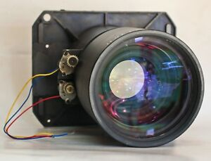BARCO QFD (2.1-3.0:1) MOTORIZED LENS Projector For Part selling as is Good Optic