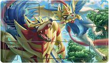 Pokemon Themes Playmat - Zamazenta Zacian Trading Card Overlay Gaming Large Mat