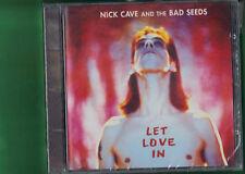 NICK CAVE -  LET LOVE IN CD  NUOVO SIGILLATO