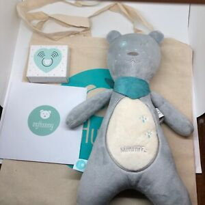 MyHummy Teddy Bear White Noise Soother Plush Toy with Cry Sensor Baby Soother
