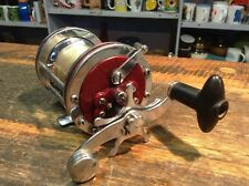 BRT Vintage Mid Century 1950s Stainless Steel Bakelite Fishing Reel Japan