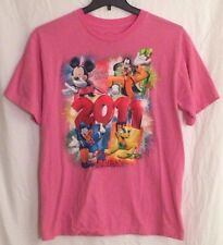 Disney Mickey Mouse and Friends Florida 2011 Pink Shirt - L
